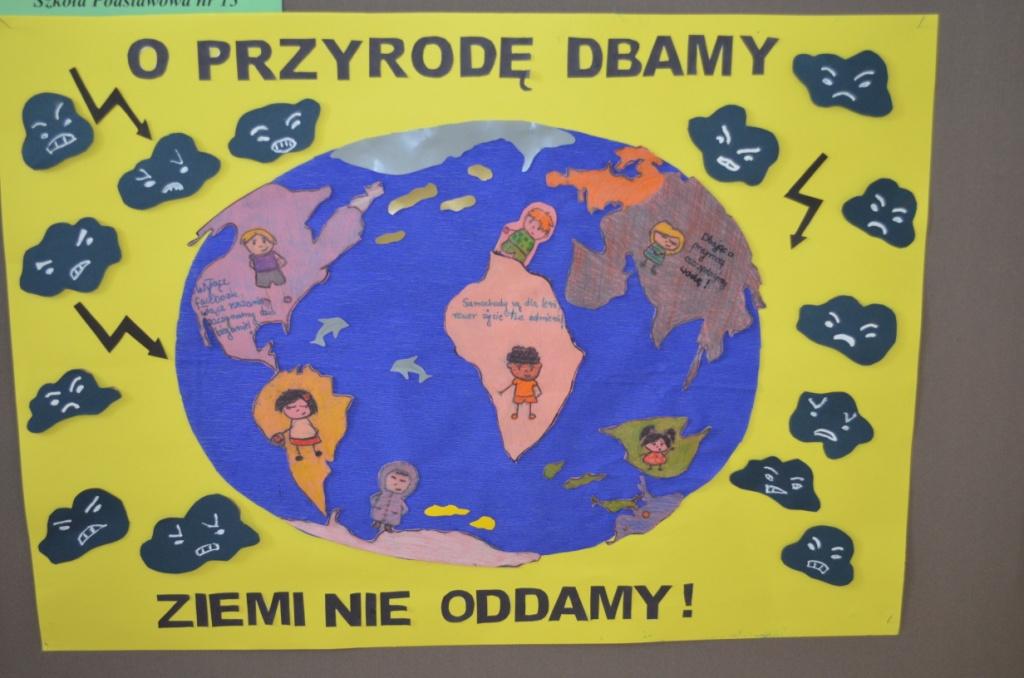 Sos Dla Naszej Planety Szkoła Podstawowa Nr 1 W Starachowicach